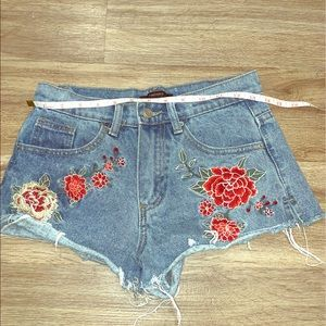 Forever 21 Jean stitched shorts us 24